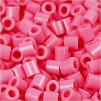Photo Pearls, stl. 5x5 mm, Hålstl. 2,5 mm, gml. rosa (25), 1100 st./ 1 förp.