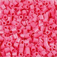 Photo Pearls, stl. 5x5 mm, Hålstl. 2,5 mm, gml. rosa (25), 6000 st./ 1 förp.