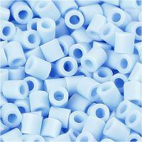 Photo Pearls, stl. 5x5 mm, Hålstl. 2,5 mm, ljusblå (28), 1100 st./ 1 förp.