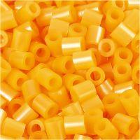 Photo Pearls, stl. 5x5 mm, Hålstl. 2,5 mm, aprikos (29), 6000 st./ 1 förp.
