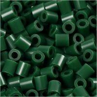 Photo Pearls, stl. 5x5 mm, Hålstl. 2,5 mm, mörkgrön (9), 1100 st./ 1 förp.