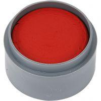 Grimas ansiktsfärg, klarröd, 15 ml/ 1 burk