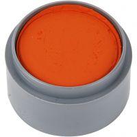 Grimas ansiktsfärg, orange, 15 ml/ 1 burk