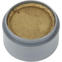Grimas ansiktsfärg, guld, 15 ml/ 1 burk