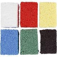 Soft Foam, standardfärger, 6x10 g/ 1 förp.