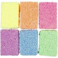 Soft Foam, neonfärger, 6x10 g/ 1 förp.