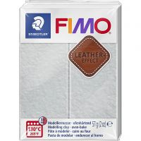 FIMO® Leather Effect, dove grey (809), 57 g/ 1 förp.