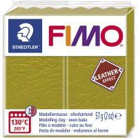 FIMO® Leather Effect, olive (519), 57 g/ 1 förp.