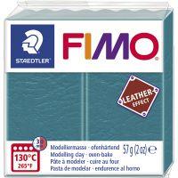 FIMO® Leather Effect, lagoon (369), 57 g/ 1 förp.