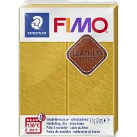 FIMO® Leather Effect, ochre (179), 57 g/ 1 förp.