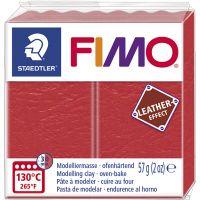 FIMO® Leather Effect, watermelon (249), 57 g/ 1 förp.