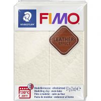 FIMO® Leather Effect, Ivory (029), 57 g/ 1 förp.