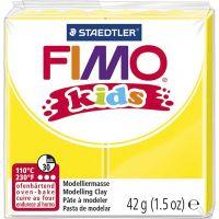 FIMO® Kids Clay, gul, 42 g/ 1 förp.