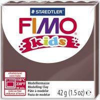 FIMO® Kids Clay, brun, 42 g/ 1 förp.