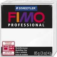 FIMO® Professional, vit, 85 g/ 1 förp.