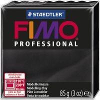 FIMO® Professional, svart, 85 g/ 1 förp.
