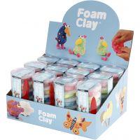 Foam Clay® , glitter färger, metallicfärger, 12 set/ 1 förp.
