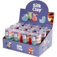 Silk Clay®, neonfärger, standardfärger, 12 set/ 1 förp.