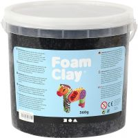 Foam Clay® , svart, 560 g/ 1 hink