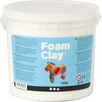Foam Clay® , vit, 560 g/ 1 hink