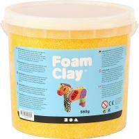 Foam Clay® , gul, 560 g/ 1 hink