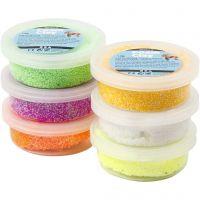 Foam Clay® , vårfärger, 6x14 g/ 1 förp.