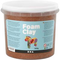 Foam Clay® , brun, 560 g/ 1 hink