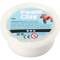 Foam Clay® , vit, 35 g/ 1 burk