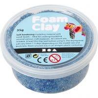 Foam Clay® , blå, 35 g/ 1 burk