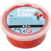 Foam Clay® , röd, 35 g/ 1 burk