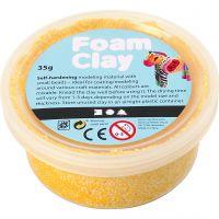 Foam Clay® , gul, 35 g/ 1 burk