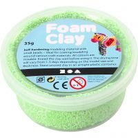 Foam Clay® , neongrön, 35 g/ 1 burk
