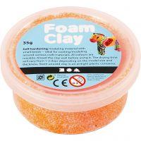 Foam Clay® , neonorange, 35 g/ 1 burk