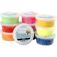 Foam Clay® , mixade färger, 10x35 g/ 1 förp.