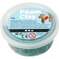 Foam Clay® , mörkgrön, 35 g/ 1 burk