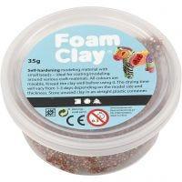Foam Clay® , brun, 35 g/ 1 burk