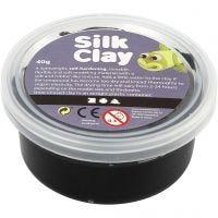 Silk Clay®, svart, 40 g/ 1 burk