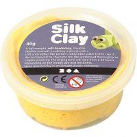 Silk Clay®, gul, 40 g/ 1 burk