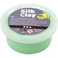 Silk Clay®, ljusgrön, 40 g/ 1 burk