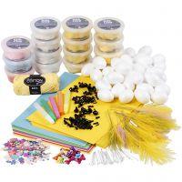 Klasset till kycklingar med Silk Clay, 1 set
