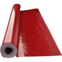 Vaxduk, B: 140 cm, röd, 1 löpm.