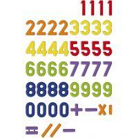 Magnetiska siffror, 48 st./ 1 förp.
