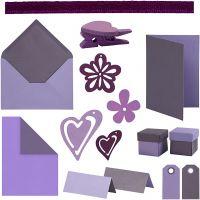 Happy Moments - Korttillverkning, mixade färger, 160 enhet/ 1 förp.