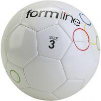 Skolgårdsfotboll, nr. 3, vit, 10 st./ 1 förp.