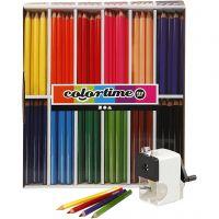 Colortime färgpennor, kärna 5 mm, mixade färger, 1 set