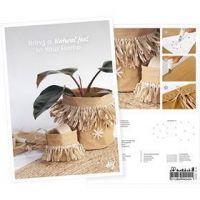 Postkort, Kreativ med 100% växtfibrer, A5, 14,8x21 cm, 1 st.