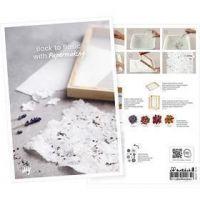 Postkort, Fördjupa dig i papperstillverkning, A5, 14,8x21 cm, 1 st.