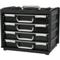 Raaco Handybox inkl. Multicase, H: 31 cm, L: 37.6 cm, B: 26,5 cm, 1 set
