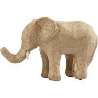 Elefant, H: 9 cm, L: 13 cm, 1 st.