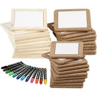 Måla grytunderlägg, standardfärger, kompletterande färger, 1 set, 30 st.